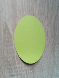 Ovale Ausschnitte 220 grms Fruhlingsgrün