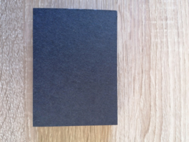 ATC / Pocketletter kaartjes  Zwart