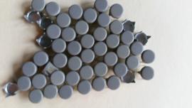 Nür 50 Zierknöpfe Dunkel Grau/ Coolgrey 033