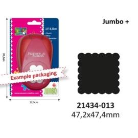 Jumbo + Vierkant Scalop