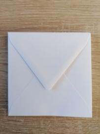 Umschläge  11 x 11 cm Weiss