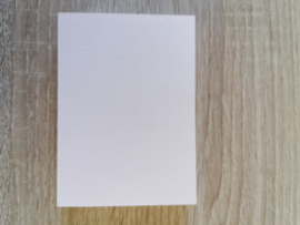 ATC / Pocketletter kaartjes  Zachtroze