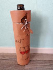 Kado verpakking voor fles wijn