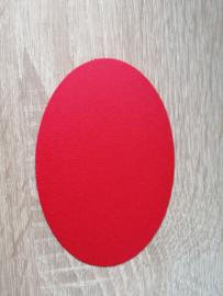 Ovaaltjes 220 grams papier Rood
