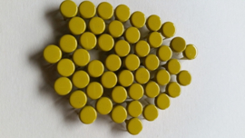 Alleen 50 sierknopjes Geel/Yellow 002