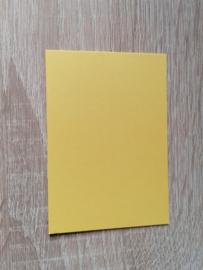 ATC / Pocketletter kaartjes  Goudgeel