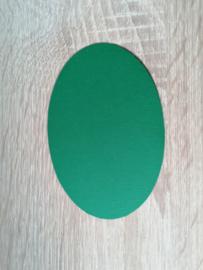 Ovale Ausschnitte 220 grms Tannengrün