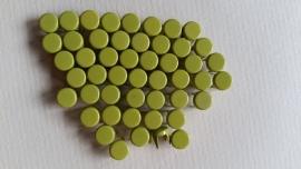 Nür 50  Zierknöpfe Hellgrün/ Lightgreen 013