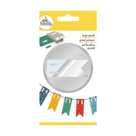 D EK Tools large punch banner flag