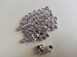 Strass steentjes mini wit