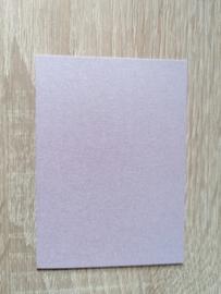 ATC/Pocketletterkarten Perlglanz Lilac