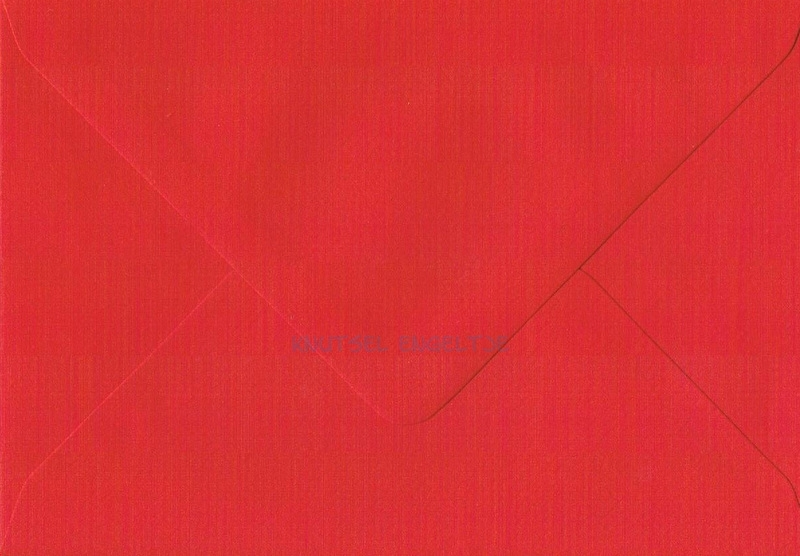C6 Envelop Rood