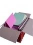 A5 en vierkant  13,5 x 27 cm gemengde kleuren 220 grams
