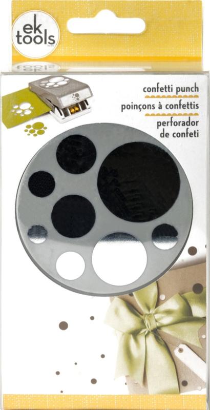 EK Tools large punch confetti dots