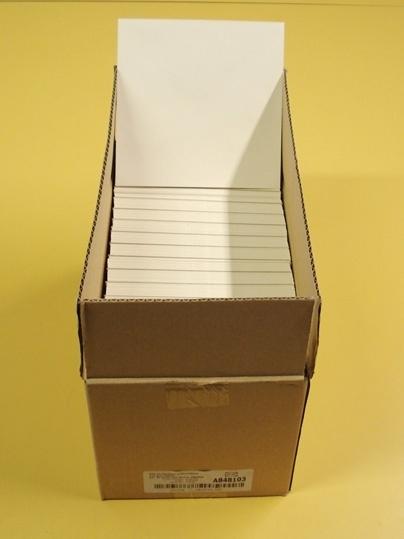 Vierkante enveloppen 14 x 14 cm kleur wit