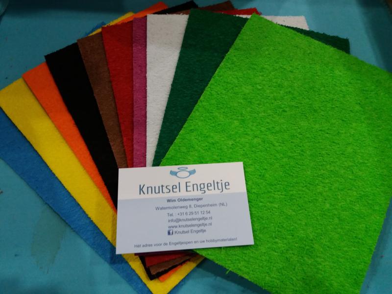 Foam 10 verschillende kleuren in pak