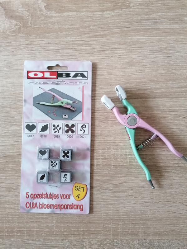 Olba Handpunch inkl 5 Zusatzteile