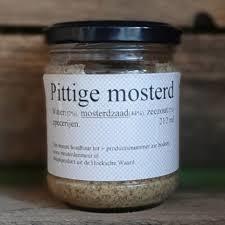 Pittige mosterd (250 gr)