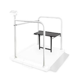 KERN MWA-A04 Grijpset met klapstoel voor rolstoelweegschaal