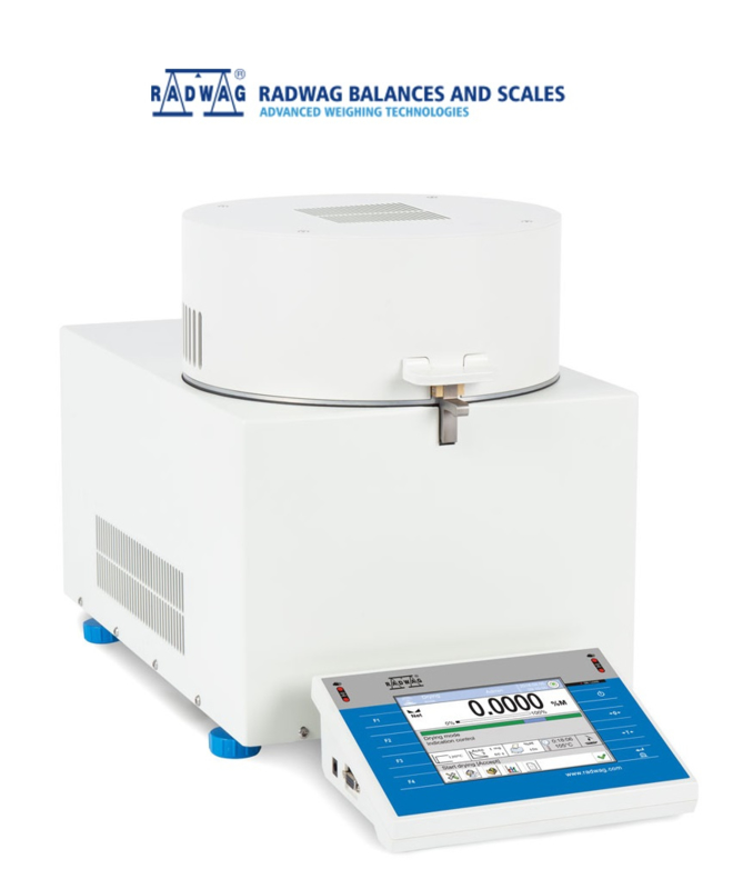 RADWAG PMV 50, microwave moisteranalyzer