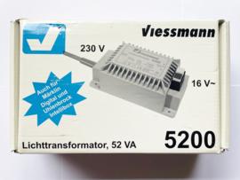 Viessmann 5200 Lichttransformator (Digitaal) in ovp