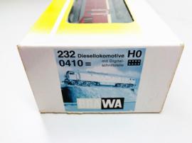 Brawa 0410 Diesellocomotief BR 232 (NEM) in ovp