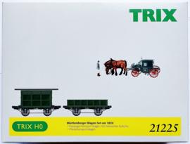 Trix 21225 Wagenset Württemberger Zug in ovp