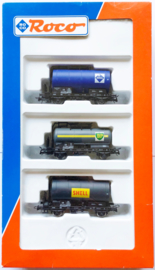 Roco 44088 Ketelwagens wagenset DB in ovp