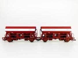 Roco 44078 Zelflossers wagenset DB in ovp