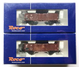 Roco 45950 Open goederenwagenset DR in ovp