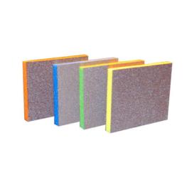 4 stuks flexibele schuursponsen p80,p120,p 180 en p 220
