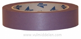tape washi paarse afplaktape 24 mm x 50 mtr