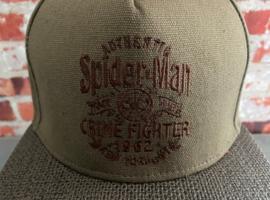Spiderman (Marvel) baseball cap Crime Fighter anno 1962