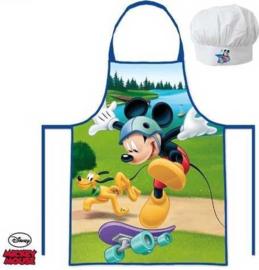 Mickey Mouse (Disney) keukenschort en koksmuts