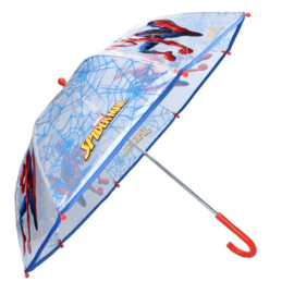 Spiderman Paraplu transparant