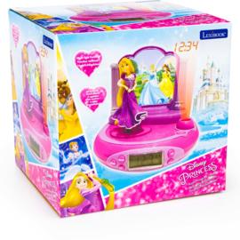 Princess  (Disney) wekkerradio met projector en geluidseffecten Rapunzel, Belle en assepoester