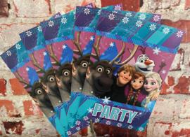 Frozen Uitnodigingskaart