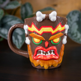 Crash Bandicoot 3D Uka Uka mug