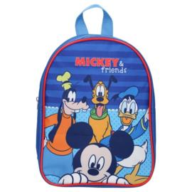 Mickey Mouse (Disney) rugzak met Goofy, Donald en Pluto