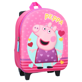 """Peppa Pig 3D trolley/rugzak """"Strong Together"""""""