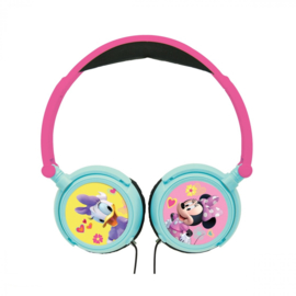 Minnie Mouse (Disney) en Katrien Duck koptelefoon