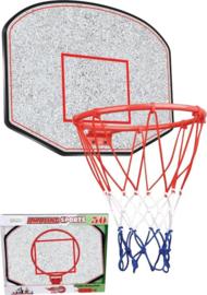 Basketballnet voor aan de muur
