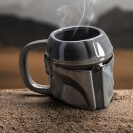 Star Wars: The Mandalorian - Mandalorian Shaped Mug