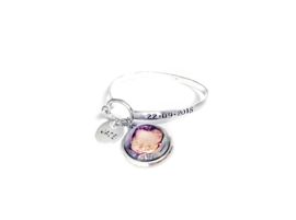 Birth Photo bracelet