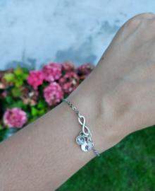 Initial Swarovski bracelet