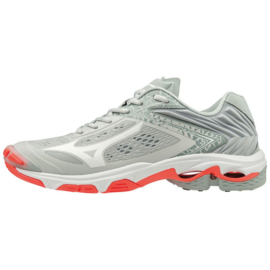 MIZUNO WAVE LIGHTNING Z5 DAMES GLACIERGRAY/WHT/FIERYCOR