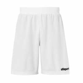 UHLSPORT BASIC GOALKEEPER SHORT DE GARDIEN BLANC