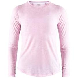 Craft Urban Hardloopshirt Lange Mouwen Roze Dames