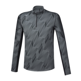 Mizuno Jacquard Graphic Half-Zip Heren