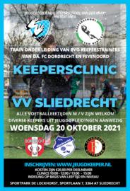 Keepersclinic 20 oktober 2021 VV Sliedrecht
